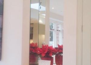 Mirrored alcove