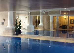 Mirrors fitted in Spa at Reynolds Health club Bexley