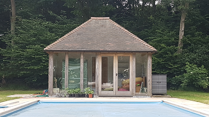 Replacement DG Unit to pool house, Brenchley