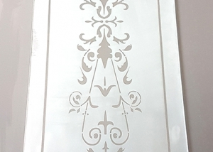 Etched Glass Panel