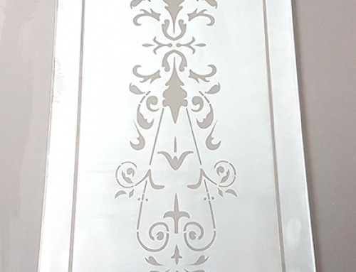 Etched/Sandblast pattern